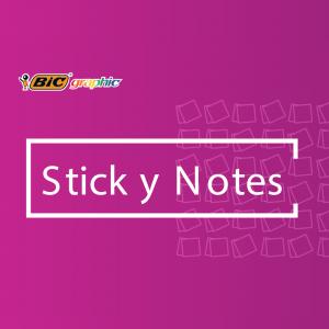 BIC STICKY NOTES